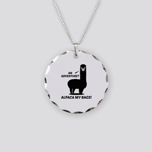 Alpaca My Bags Necklace Circle Charm