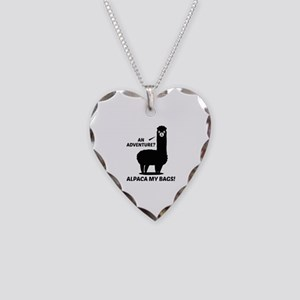 Alpaca My Bags Necklace Heart Charm