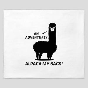 Alpaca My Bags King Duvet