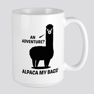 Alpaca My Bags Large Mug