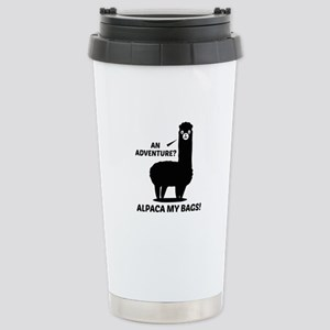 Alpaca My Bags Ceramic Travel Mug