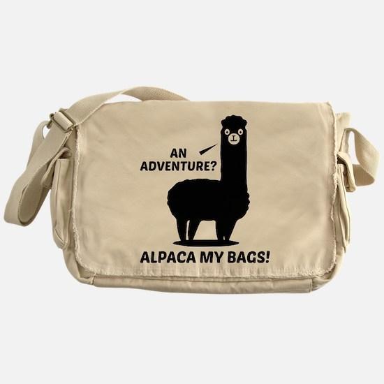 Alpaca My Bags Messenger Bag