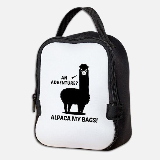 Alpaca My Bags Neoprene Lunch Bag
