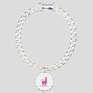 Alpaca My Bags Charm Bracelet, One Charm
