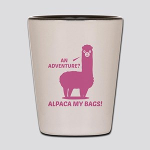 Alpaca My Bags Shot Glass
