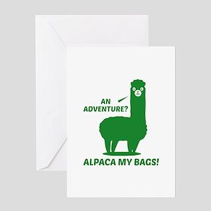 Alpaca My Bags Greeting Card