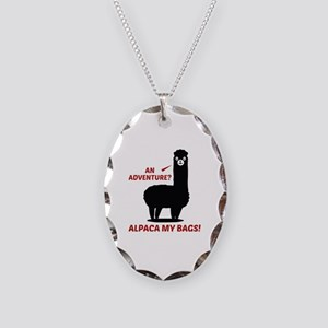 Alpaca My Bags Necklace Oval Charm