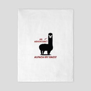 Alpaca My Bags Twin Duvet