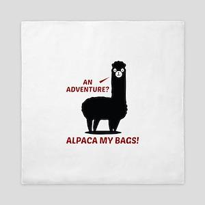 Alpaca My Bags Queen Duvet