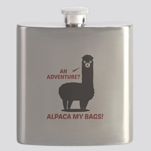 Alpaca My Bags Flask