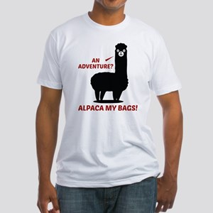 Alpaca My Bags Fitted T-Shirt