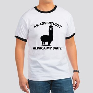 Alpaca My Bags Ringer T
