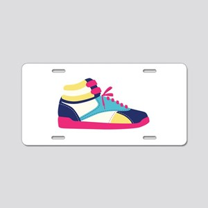 High-Tops Sneaker Aluminum License Plate