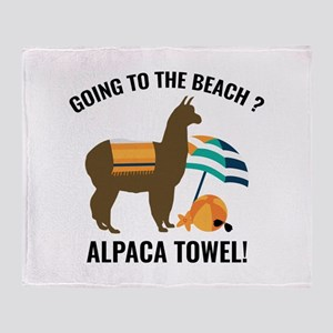 Alpaca Towel Stadium Blanket
