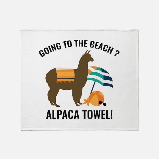 Alpaca Towel Stadium Blanket