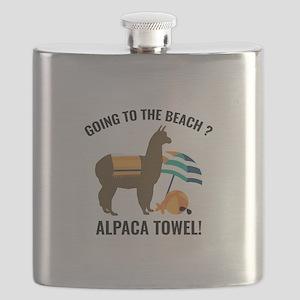 Alpaca Towel Flask