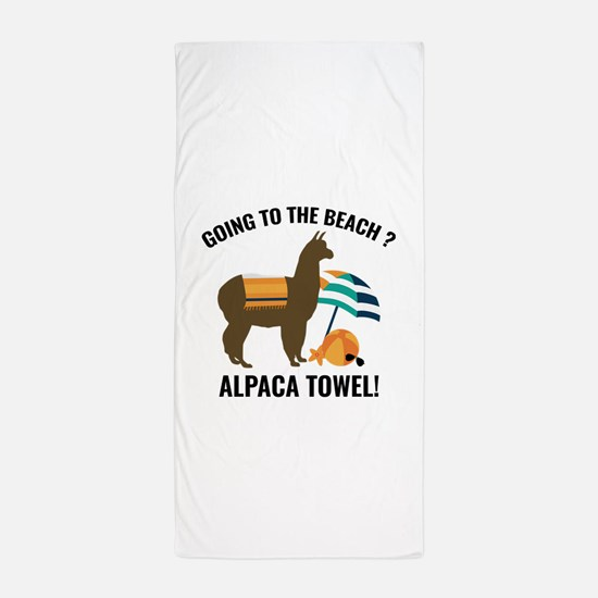 Alpaca Towel Beach Towel