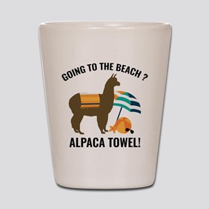 Alpaca Towel Shot Glass