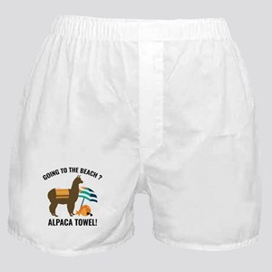 Alpaca Towel Boxer Shorts