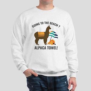 Alpaca Towel Sweatshirt