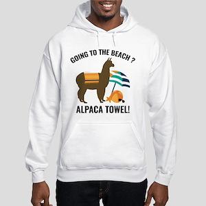 Alpaca Towel Hooded Sweatshirt