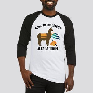 Alpaca Towel Baseball Jersey