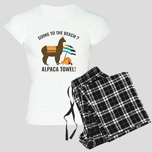 Alpaca Towel Women's Light Pajamas