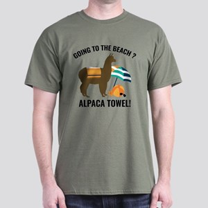 Alpaca Towel Dark T-Shirt