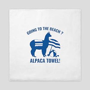 Alpaca Towel Queen Duvet