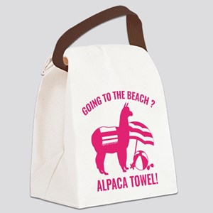 Alpaca Towel Canvas Lunch Bag