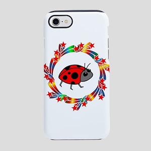 Ladybug Stars iPhone 8/7 Tough Case