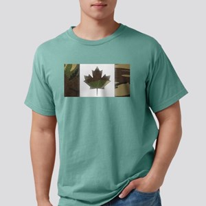 Canadian Flag Camo Green Woodland T-Shirt