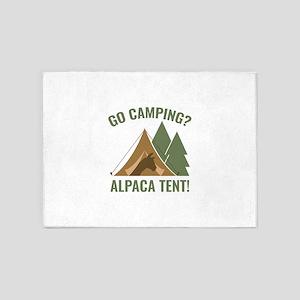 Alpaca Tent 5'x7'Area Rug