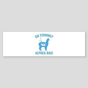 Alpaca Bag! Sticker (Bumper)