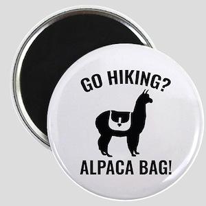 Go Hiking? Alpaca Bag! Magnet