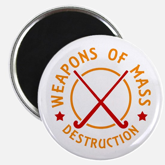 Field Hockey Weapons of Destruction Magnets