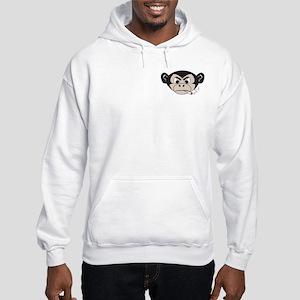 Two Sided Smoking Monkey Hooded Sweatshirt