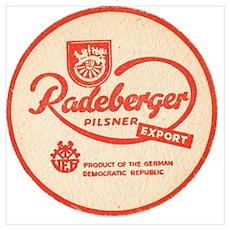 Radeberger beer Poster