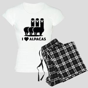 I Love Alpacas Women's Light Pajamas