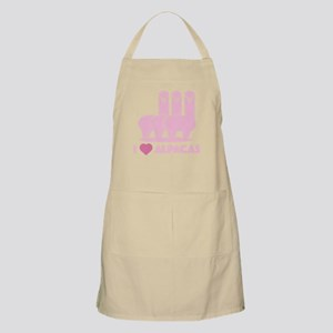 I Love Alpacas Apron