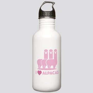 I Love Alpacas Stainless Water Bottle 1.0L