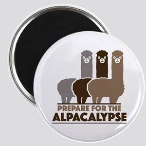Prepare For The Alpacalypse Magnet