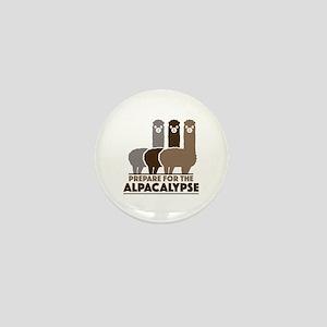 Prepare For The Alpacalypse Mini Button