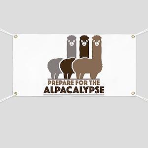 Prepare For The Alpacalypse Banner