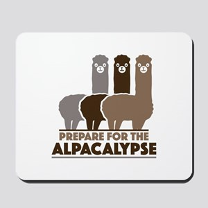 Prepare For The Alpacalypse Mousepad