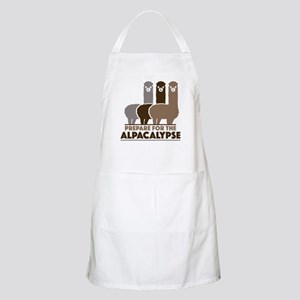 Prepare For The Alpacalypse Apron