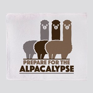Prepare For The Alpacalypse Stadium Blanket