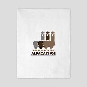 Prepare For The Alpacalypse Twin Duvet