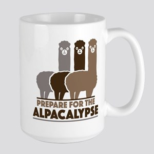 Prepare For The Alpacalypse Large Mug
