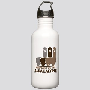 Prepare For The Alpacalypse Stainless Water Bottle